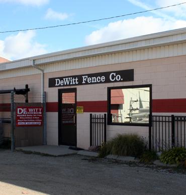 Dewitt Fence Office