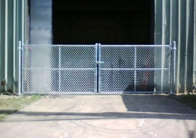 industrial warehouse ventilatio-n double gate