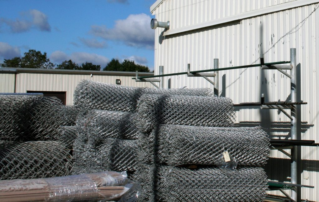 Materials used for fences.